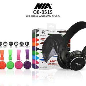 هدفون-Nia-هدست-مشکی-سیاه-ابی-هدفون-بی-سیم-نیا-اصلی-مدل-Q8-851S-هدست-بلوتوثی-با-کیفیت-رنگی-NIA-Q8-851S-Wireless-Headphones